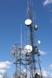 башни радиосвязи технологии клетки Стоковые Фото