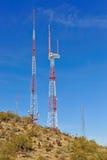 башни радиосвязи Стоковые Фотографии RF