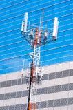 Башни радиосвязи & сотового телефона Стоковые Фотографии RF