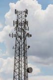 Башни репитера сотового телефона Стоковое Фото