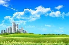 башни сада здания Стоковое Изображение