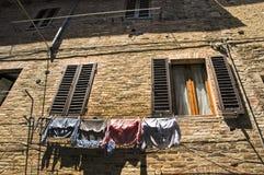 Башни Сан Gimingano Тосканы Стоковые Изображения