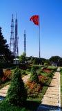 Башни связи холма Стамбула Camlica Стоковая Фотография