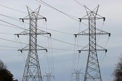 Башни силы Стоковая Фотография RF