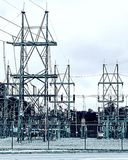 Башни силы Стоковое Фото