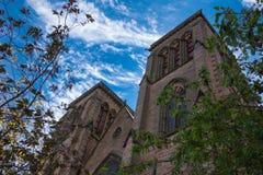 2 башни собора Сент-Эндрюса в Инвернессе Стоковое Изображение RF