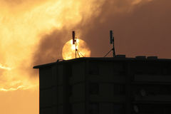 башни сотового телефона Стоковая Фотография RF