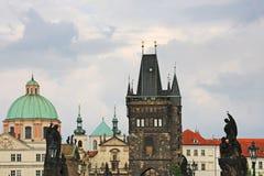 Башни старого городка в Праге Стоковая Фотография RF