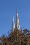 башни церков готские Стоковая Фотография RF