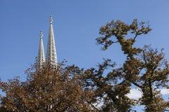 башни церков готские Стоковые Изображения