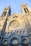Башни церков на предпосылке голубого неба Стоковая Фотография
