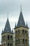 Башни церков романск Стоковые Изображения RF