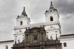 2 башни церков Св.а Франциск Св. Франциск Стоковое Изображение RF