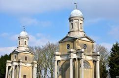 2 башни церков essex Mistley Стоковая Фотография