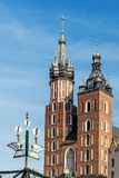 Башни церков StMary Стоковое Фото