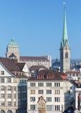 Башни Цюриха Стоковое Изображение