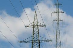 Башни электричества Стоковая Фотография