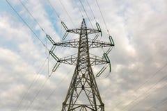 Башни электричества Стоковые Изображения