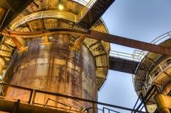 Башни для изготовлять чугуна, Остравы, чехии Стоковая Фотография