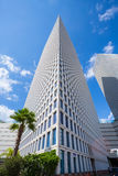 Башни Azrieli в Тель-Авив Стоковые Фотографии RF