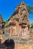 Башни Banteay Srei стоковые фотографии rf