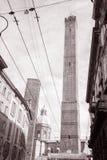 2 башни, Bolonia, Италия Стоковое Фото