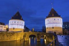Башни Broel в Кортрейке в Бельгии Стоковое фото RF