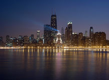 башни chicago Стоковые Изображения RF