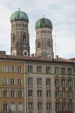 Башни Frauenkirche в Мюнхене Стоковое фото RF