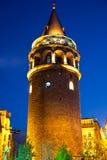 башни galata Стоковые Фото