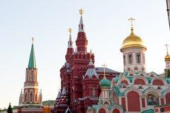башни kremlin moscow Стоковые Фотографии RF
