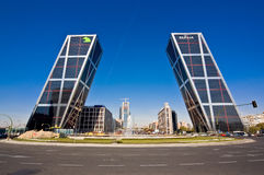 башни madrid Испании kio Стоковые Фото