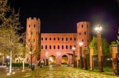 Башни Palatine в Турине Стоковая Фотография