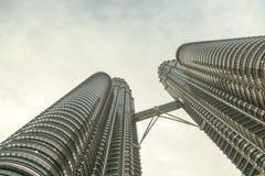 Башни Petronas, Куала Лумпур, Малайзия Стоковая Фотография