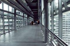 башни petronas моста Стоковые Фотографии RF