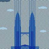 Башни Petronas иллюстрация штока