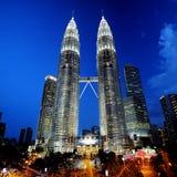 Башни Petronas Стоковая Фотография