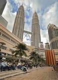 Башни Petronas Стоковые Изображения RF
