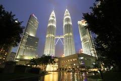 Башни Petronas Стоковые Фото
