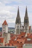 башни regensburg Стоковые Изображения