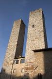 Башни Torri Salvucci; San Gimignano Стоковое Изображение