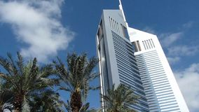 башни UAE эмиратов Дубай видеоматериал