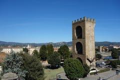 Башня ² Сан NiccolÃ, Флоренса, Италии стоковое изображение