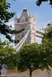 башня Англии london моста Стоковые Изображения