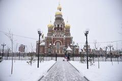 Башня аннунциации в Yoshkar-Ola Стоковая Фотография RF