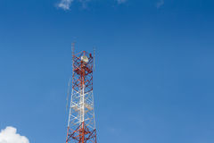 Башня антенны радиосвязей Стоковые Изображения