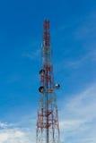 Башня антенны радиосвязей Стоковые Изображения RF