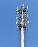 Башня антенны сотового телефона Стоковое Изображение RF