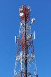 Башня антенны сотового телефона Стоковая Фотография