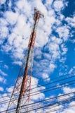 Башня антенны Стоковое Изображение